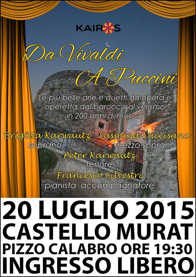 l'Opera al Castello Murat - Pizzo